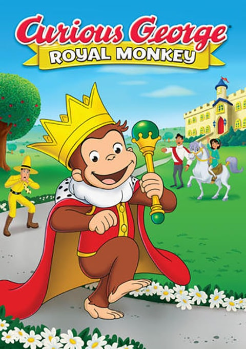 دانلود انیمیشن Curious George: Royal Monkey 2019