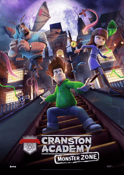 دانلود انیمیشن 2020 Cranston Academy: Monster Zone