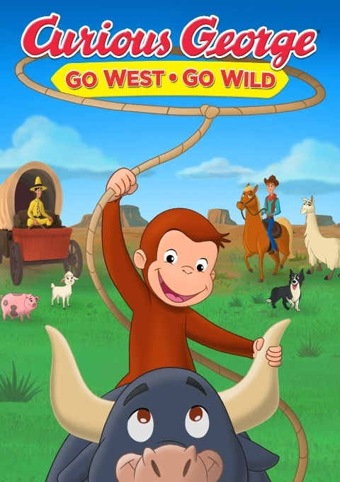 دانلود انیمیشن Curious George: Go West Go Wild 2020